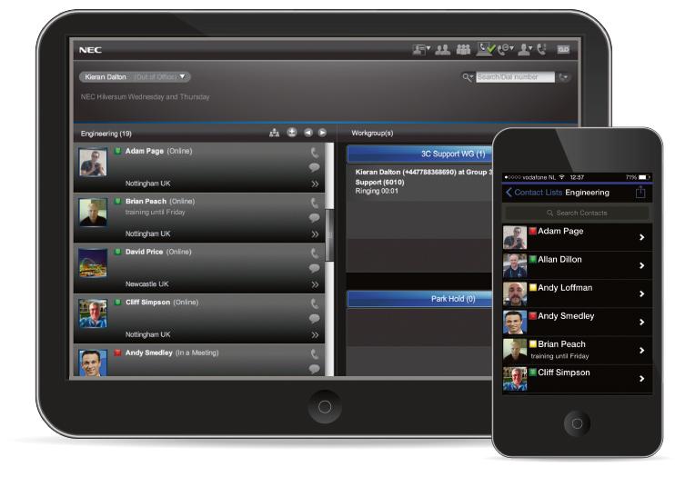 NEC Univerge 3C Unified Communications Platform